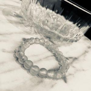 Frosted Beaded Bracelet